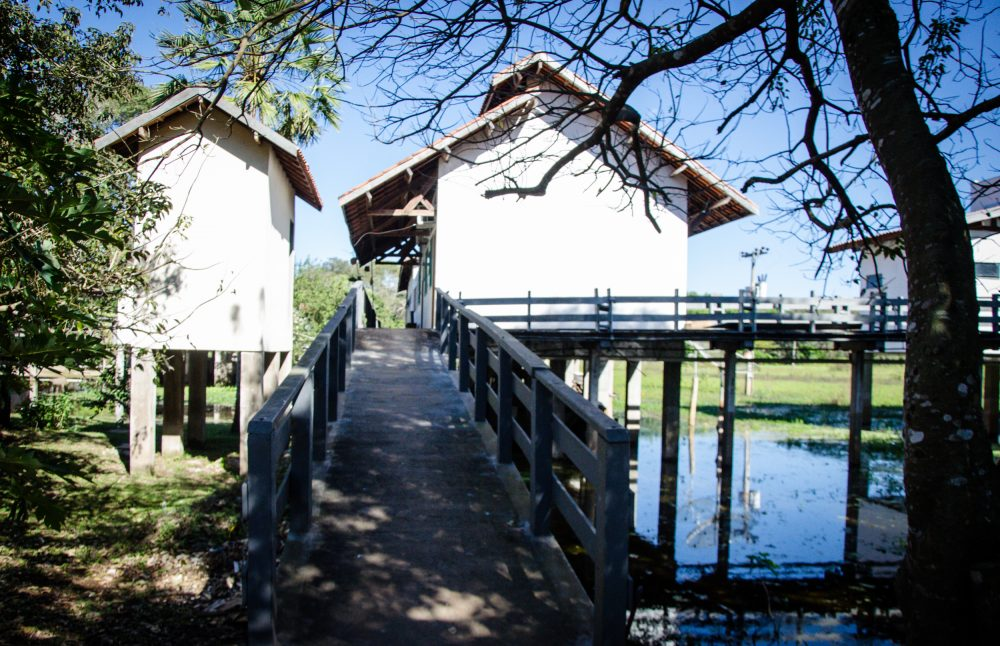 UFMS Pantanal base of studies and research (Photo: EJBrava)